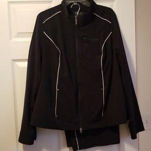 Two piece jogging suit